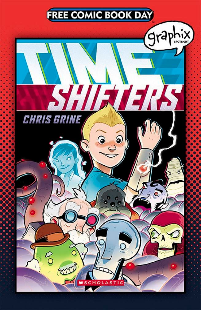 FCBD17_S_Scholastic - Graphix Spotlight Time Shifters