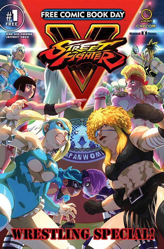 FCBD17_S_UDON Ent - Street Fights V Wrestlers Special 1