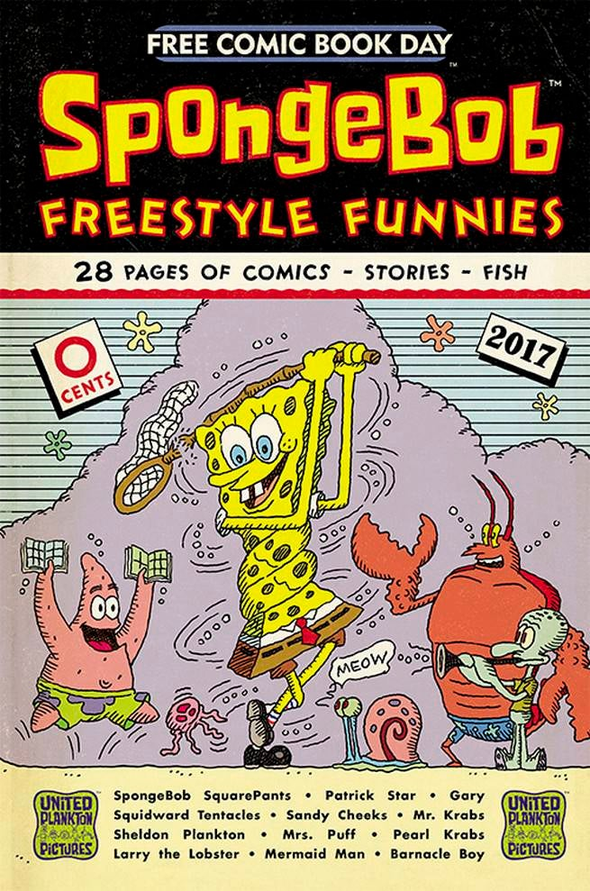 FCBD17_S_United Plankton - SpongeBob Freestyle Funnies