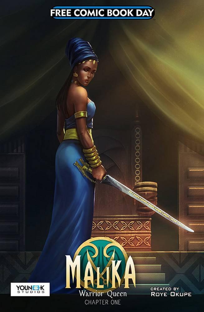 FCBD17_S_YouNeek Studios - Malika Warrior Queen Chapter One