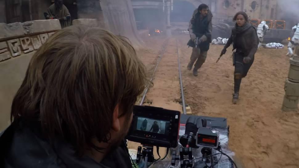 Gareth Edwards Rogue One Star Wars Story Reshoots