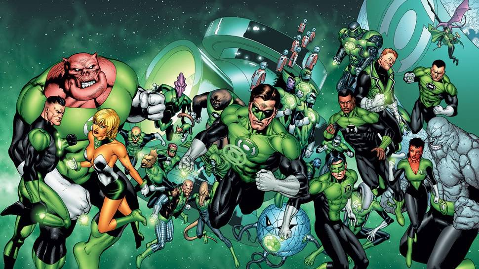Green Lantern Corps movie