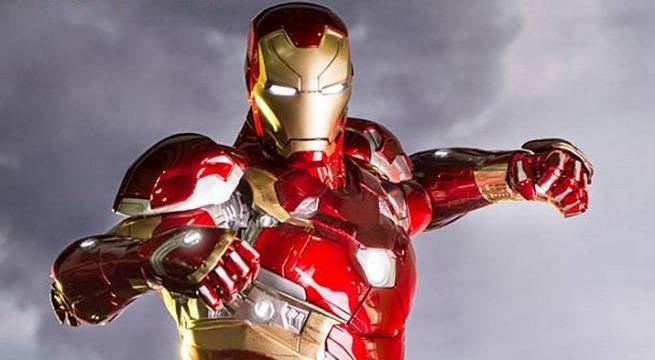 Iron Man Civil War Statue From Iron Studios Revealed