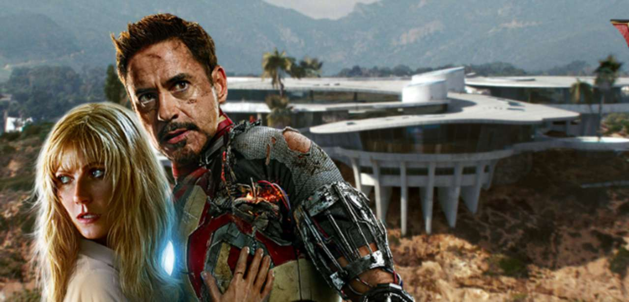 Iron Man Concept Art Of Tony Stark S Malibu Mansion