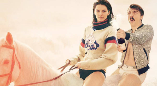 Kendall and Kirby on a horse