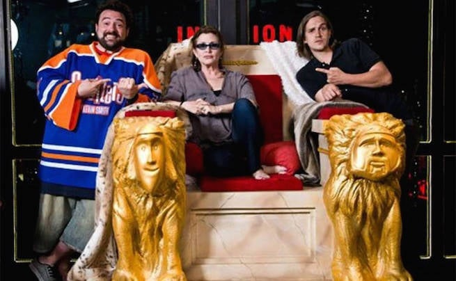 Kevin Smith Writes Beautiful Tribute To His Friend Carrie Fisher