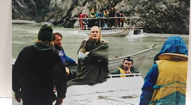 Legolas in a Boat