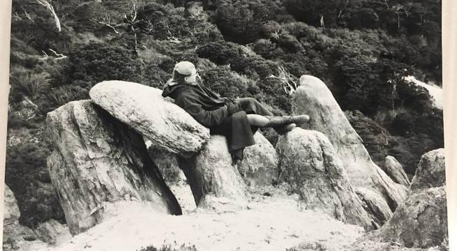 Legolas on a Rock