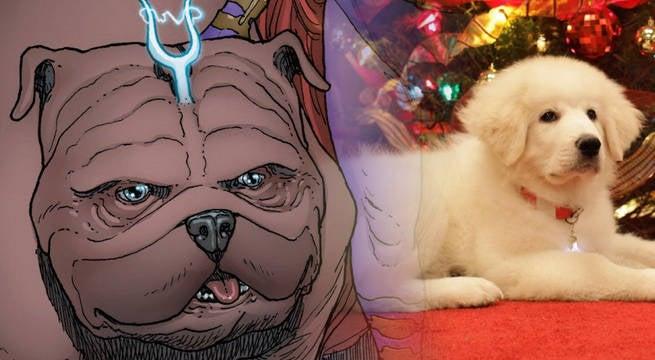 Marvel-Christmas-Movie-Lockjaw-Santa