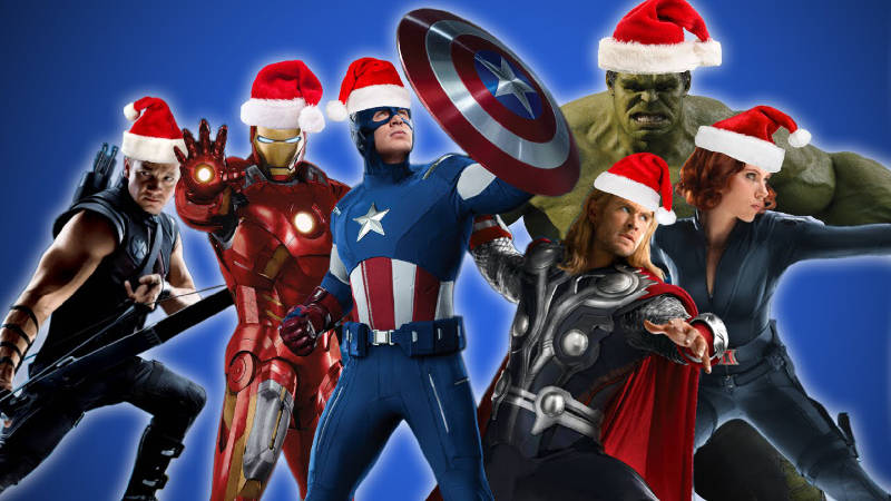 Marvel Cinematic Universe Characters Christmas