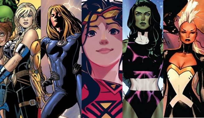 Marvel Female Teams