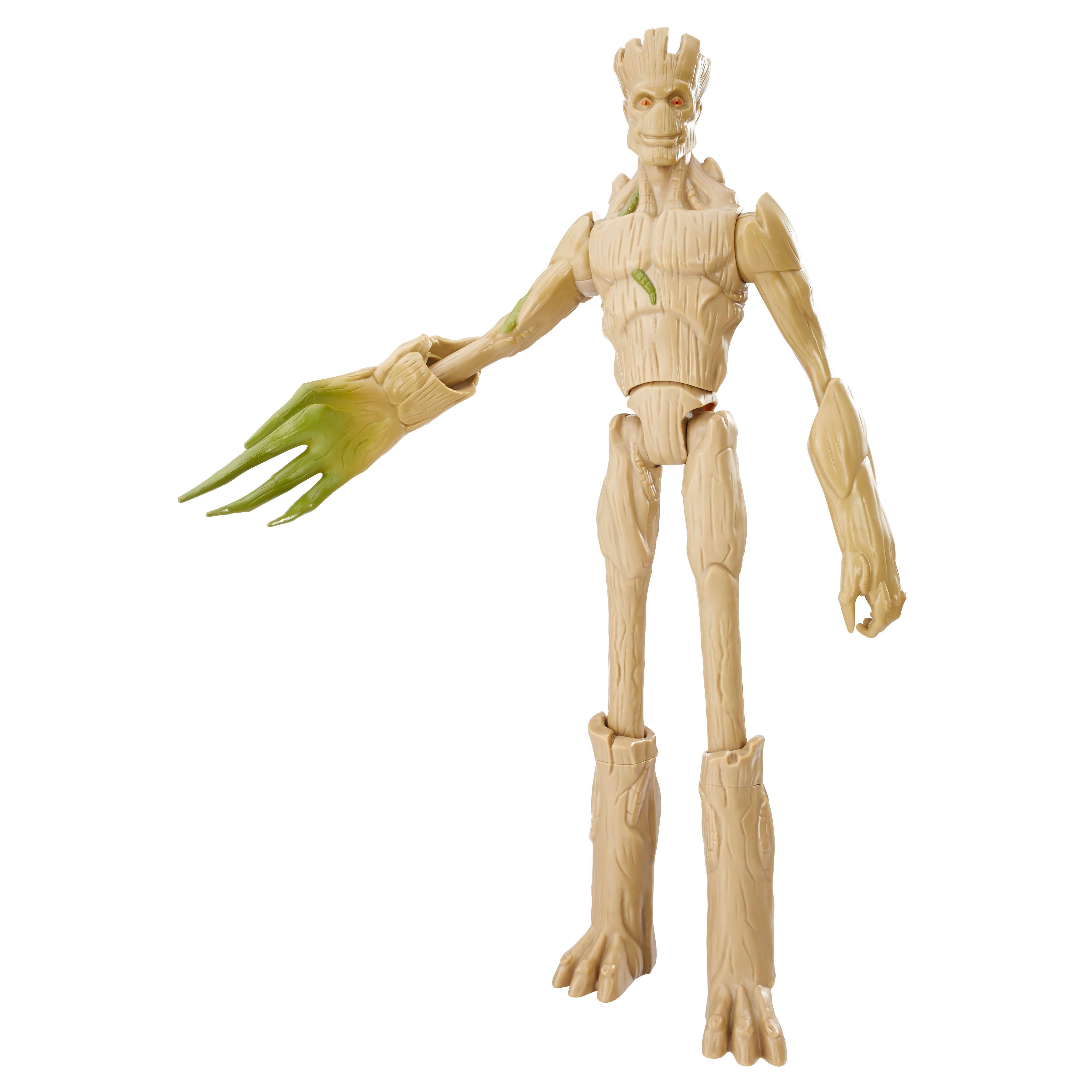 MARVEL GUARDIANS OF THE GALAXY TITAN HERO DELUXE GROWING GROOT Figure - oop