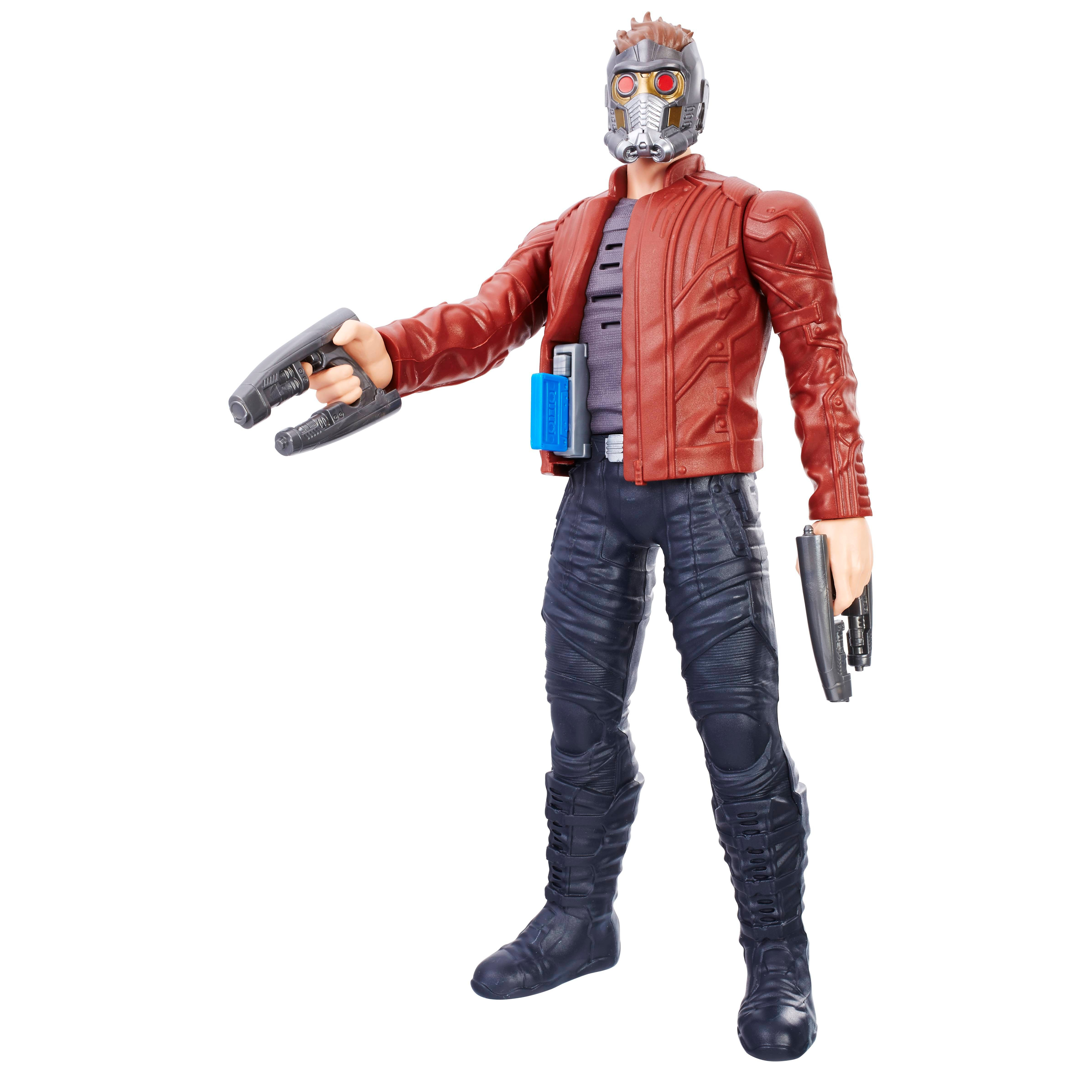MARVEL GUARDIANS OF THE GALAXY VOL. 2 TITAN HERO ELECTRONIC MUSIC MIX STAR-LORD Figure - oop