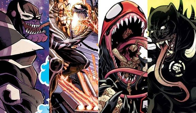 Marvel Venomized Variants