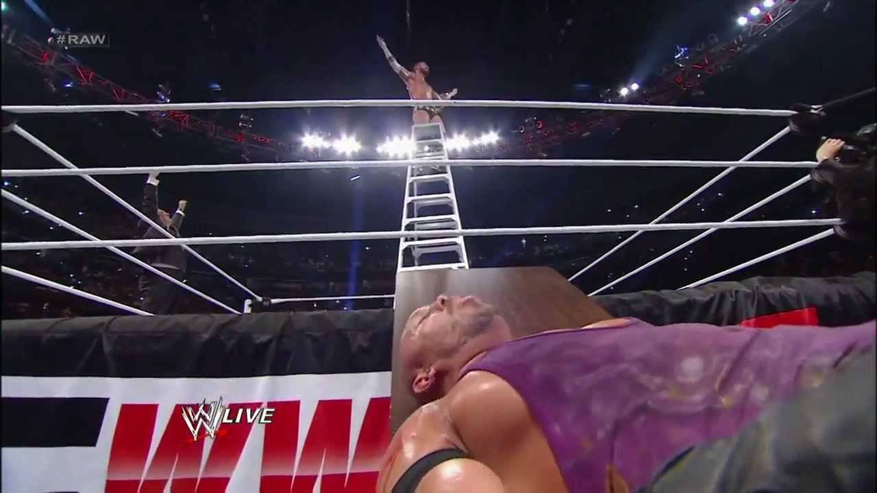 Cm Punk vs Ryback TLC