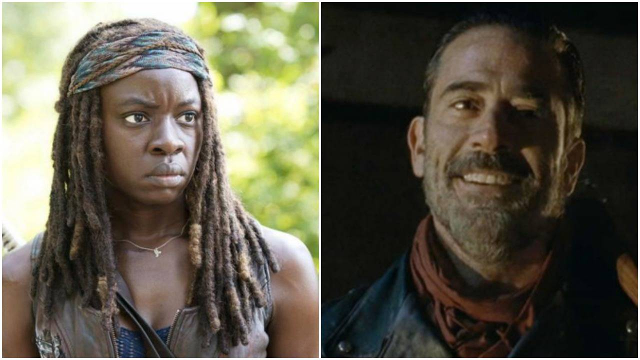 michonne negan twd