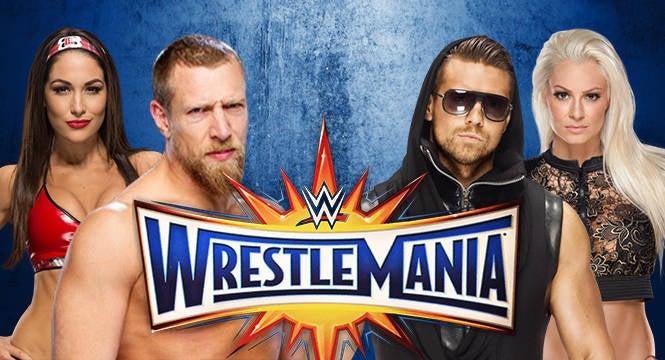 Daniel Bryan vs The Miz Wrestlemania 33