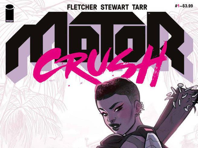 Motor Crush #1 Cover