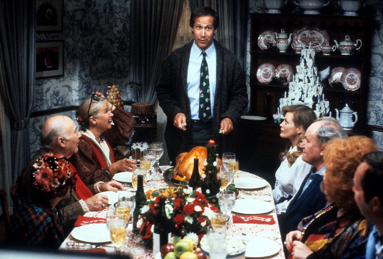 National Lampoons Christmas - dinner