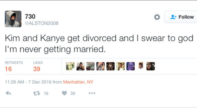 Never Getting Married