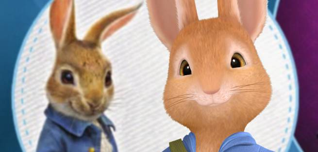 Peter Rabbit: First Look At New Version Voiced By James Corden