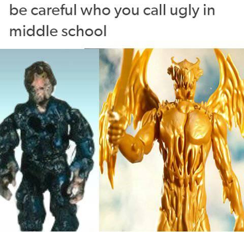 Power Ranger Goldar Meme
