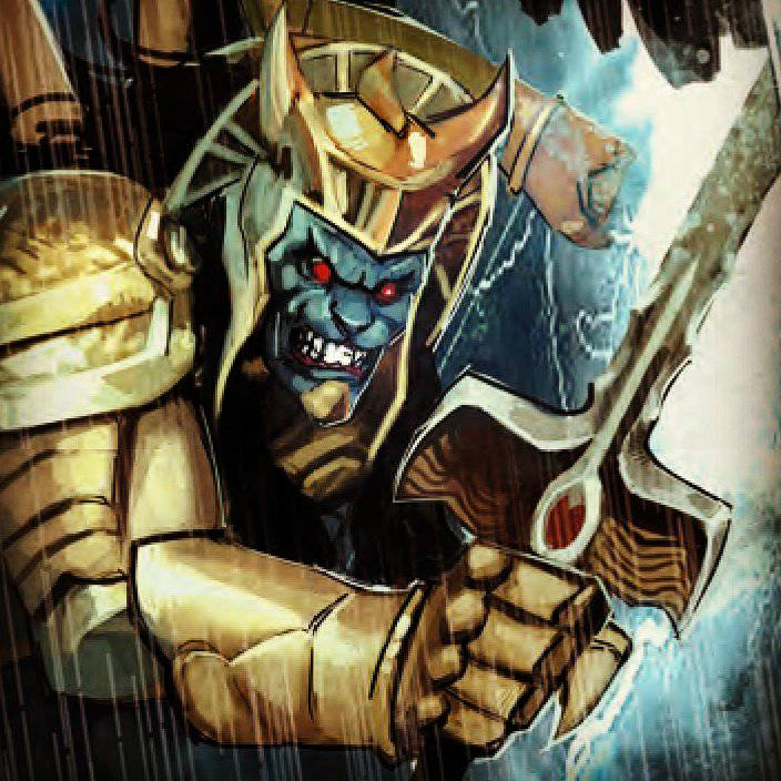 Power Rangers Goldar Classic Design