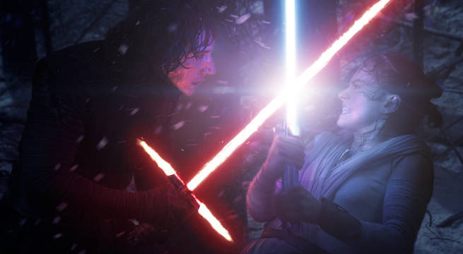 rey-kylo-ren-lightsabers-the-force