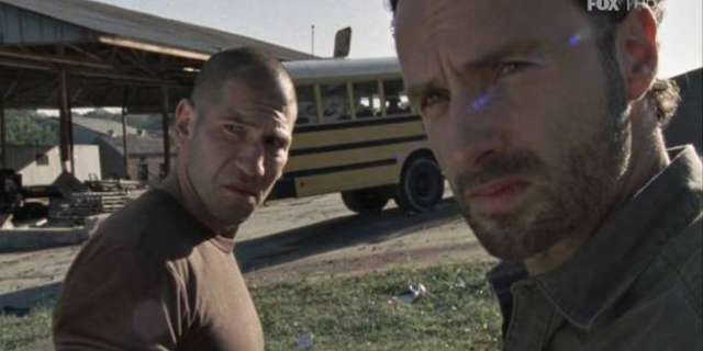 """Rick And Shane In """"The Walking Dead"""""""