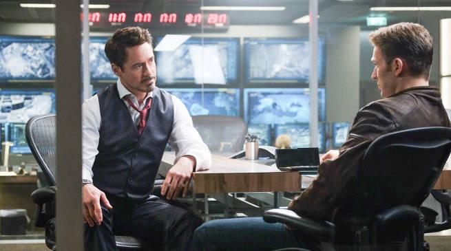 Robert Downey Jr. in Captain America Civil War