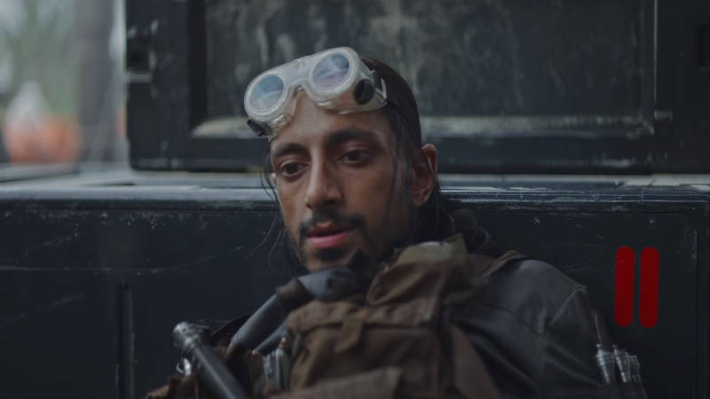 Rogue One Star Wars Bodhi Rook Death Scene