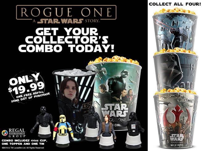 RogueOne Regal-popcorn-tins