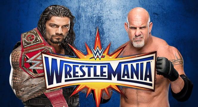 Roman Reigns vs Goldberg