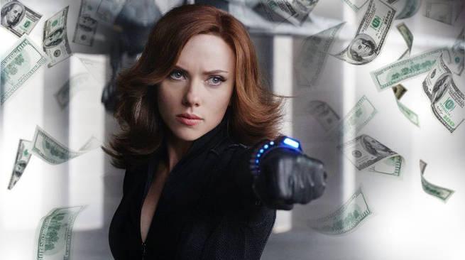 Scarlett Johansson Top Grossing Actor 2016