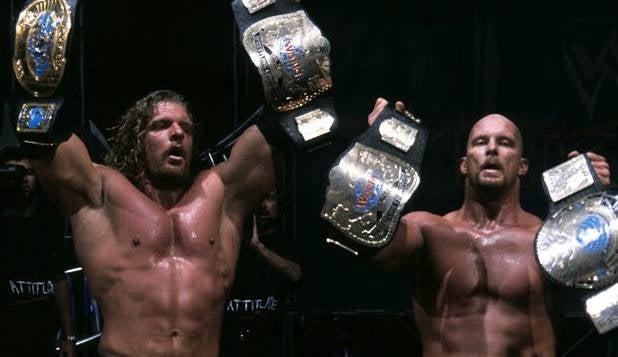 Triple H Stone cold