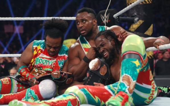 New Day lose Championships