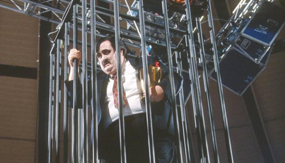 Paul Bearer IN Cage