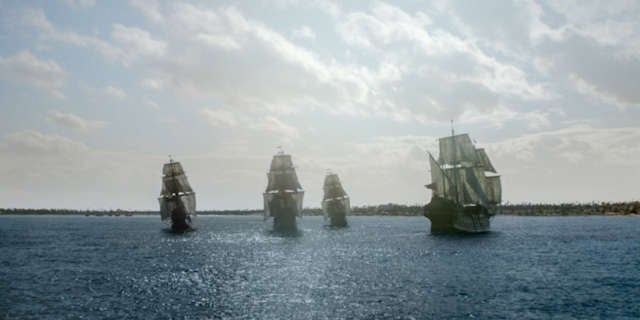 Ships at Nassau Harbor