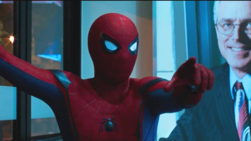 Spider-Man Homecoming ATM Robbery Scene