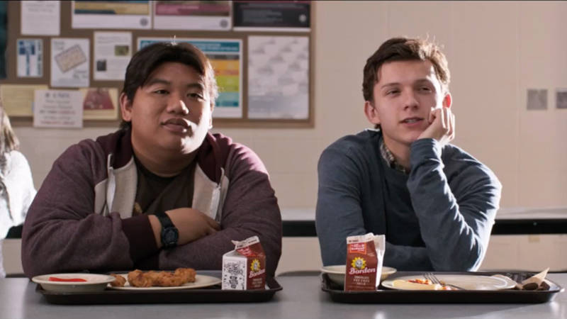 Spider-Man Homecoming Peter Parker Ned Leeds High School