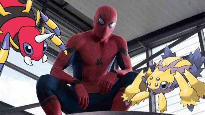 spider-man pokepals