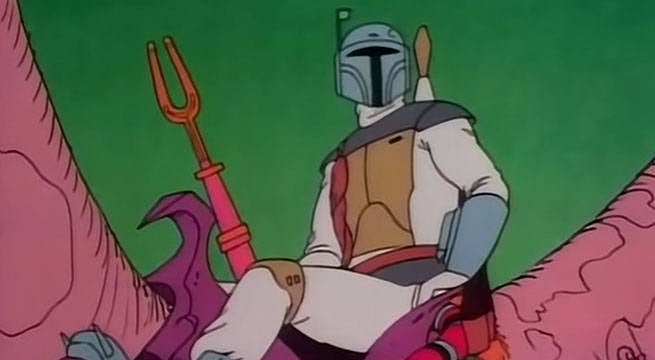 star wars hoiday special boba fett debut