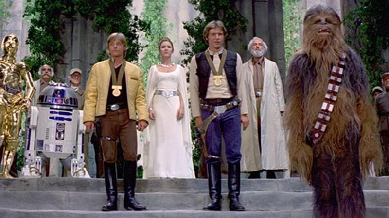 Star Wars Medal Ceremony 1