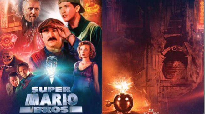 Super Mario Bros Limited Edition Blu-ray
