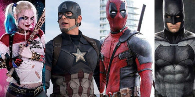 Superhero Movie Actors Top Grossing 2016