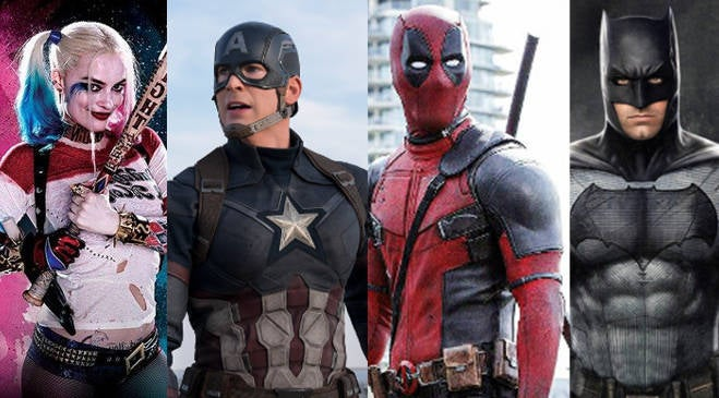 Superhero Movie Actors Top Grossing 2016