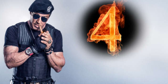 Sylvester Stallone Teases Expendables 4