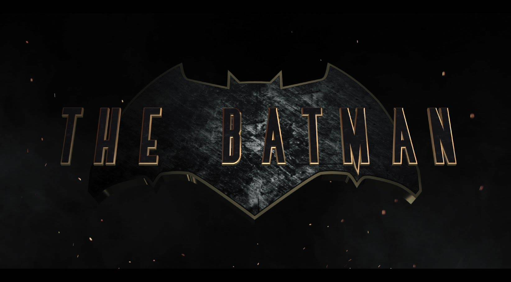 The Batman Fan-Made title Logo