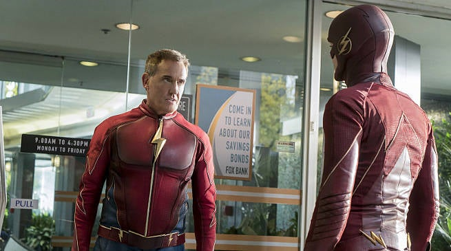 The Flash Midseason 3 Finale The Present Jay Garrick
