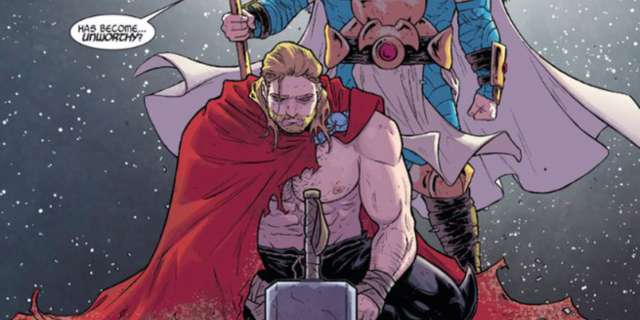 The Unworthy Thor - Title
